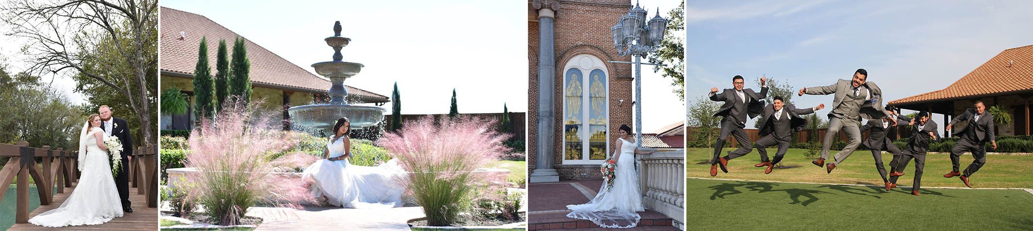 Photography Packages from Houston's best wedding photography--start to finish